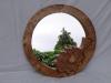 Oak Leaf Vanity Mirror